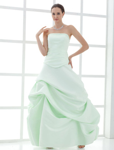 strapless-ball-gown-satin-mother-bride-groom-dress