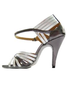 Chaussures de danse latine à talons aiguilles classiques en peau de mouton