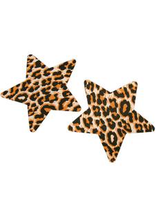 Image of Pasties multi colore Leopard Print opaco satinato di donna