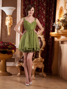 Gossip Girl Fashion Pleated Short Taffeta Celebrity Dress