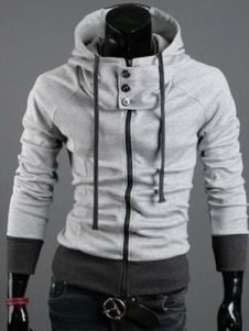 New in High Collar Cotton Assassins Creed Desmond Hoodie For Men