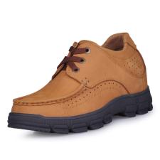 Image of Suola in gomma in pelle di mucca caffè elevata sicurezza scarpe uomo