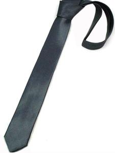 Image of Novità nero Pure Color cravatte