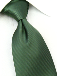 Image of Cool esercito verde misto cotone tessuto 145 cm Mens Tie