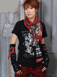 black-short-sleeves-jewel-neck-cotton-blend-lolita-t-shirt