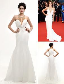 sexy-ivory-beading-v-neck-mermaid-fashion-cannes-film-festival-dress