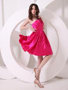 charming-fuchsia-a-line-tiered-prom-dress