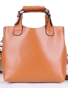 Elegant PU Leather Women's Tote Bag