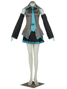 Cosplay comme Hatsune Miku de VOCALOID Halloween
