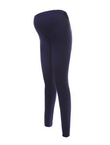 Pantalones de maternidad de lycra spandex y algodón