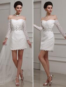 ivory-sheath-bateau-neck-beading-lace-bridal-wedding-gown