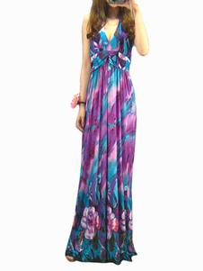 loral-print-maxi-dress