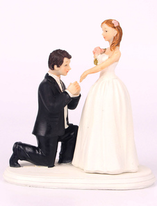 Classic & Traditional Figurine Classic Couple Wedding Cake Topper