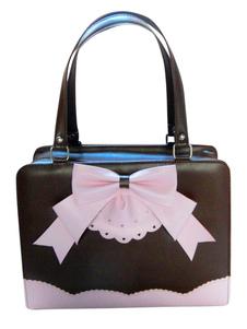Image of Borsa di prua attraente PU Leather Lolita