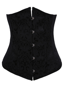 alluring-black-jacquard-womens-sexy-corsets