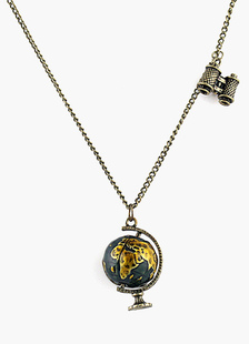 Image of Collana d'oro casual metallica da 16-18 pollici