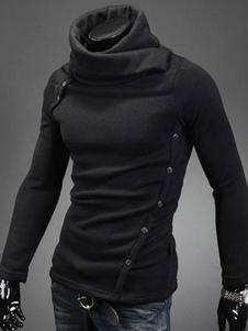 men-black-cotton-asymmetrical-hoodie-chic-knitwear