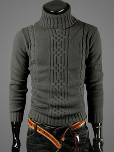 high-collar-crochet-pullover-knitwear