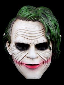 Halloween White Batman Mask