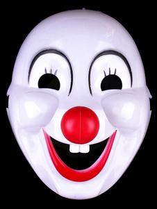 Halloween White Mask For Clowns