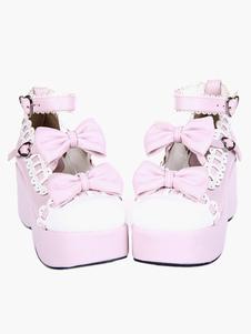 Swee Lolita Platform Shoes Ankle Strap Lolita Flatform Shoes