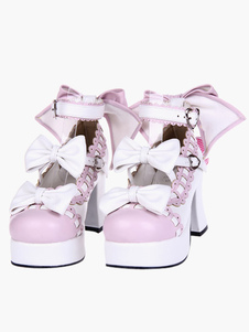 sweet-lolita-chunky-heels-shoes-platform-ankle-strap-bows-decor