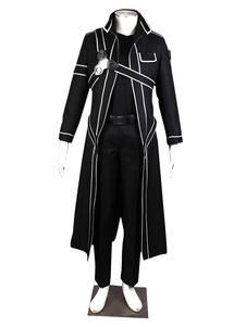 Sword Art Online Kirito Cosplay Costume SAO Kirigaya Kazuto Halloween Cosplay Costume