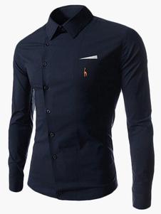 Camisa de algodón con manga larga