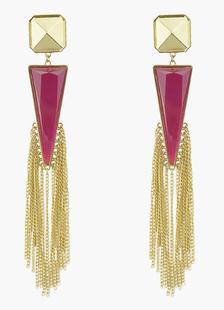 Image of Triangolo moderno metallo forato Orecchini moda per le donne