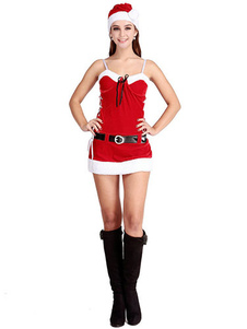 sexy-christmas-costume-red-strappy-christmas-lingerie-mini-dress-christmas-santa-lingrie