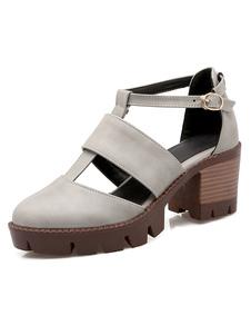 women-shoes-buckly-academic-wood-grain-chunky-heels