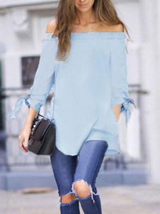 bare-shoulder-long-sleeve-smock-top