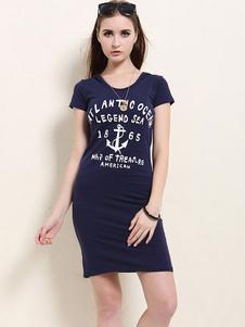 short-sleeve-shift-t-shirt-dress