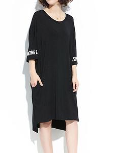t-shirt-dress-flared-sleeve-printed-oversized-shift-dress