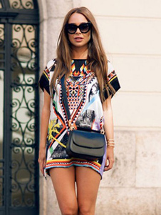 Summer Dress Printed Boho Dress
