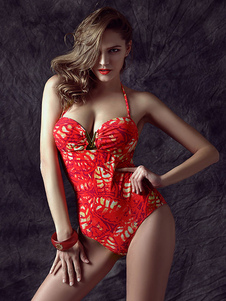 printed-backless-one-piece-swimwear