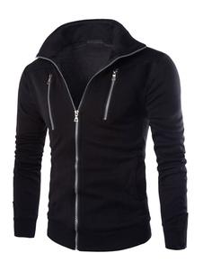 black-gray-jersey-jacket-for-men-zip-up-outwear
