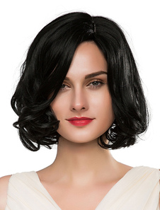 short-black-wigs-human-hair-women-curly-real-hair-wigs