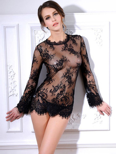 sexy-black-sheer-chemise-blace-lace-nightdress