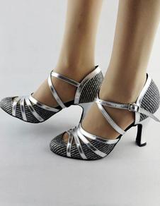 Image of Scarpe da ballo Criss-Cross mandorla Toe tacchi alti donna