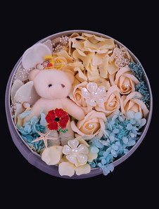 round-personalized-wedding-gifts-artificial-flower-rose-box-pearl-studdeddiameter21cm