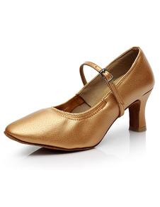 Image of Danza scarpe mandorla donna personalizzata grosso ballo scarpe