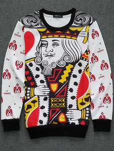 white-men-sweatshirt-long-sleeve-poker-print-top