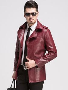 black-red-jacket-men-pu-leather-long-sleeve-fashion-jacket