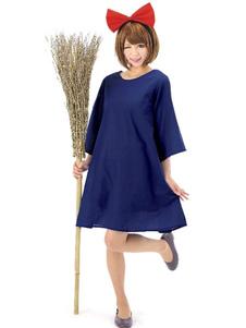 Image of Vestito blu Cosplay femminile di Carnevale costumi Kiki consegna