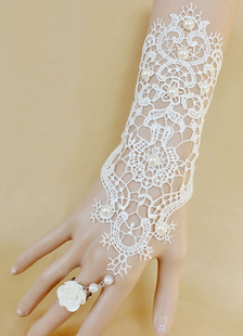 white-wedding-gloves-lace-vintage-cotton-fingerless-bridal-gloves-pearl-chain-flower-wedding-accessories