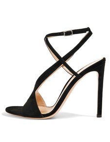 black-bridal-sandasl-high-heel-suede-open-toe-evening-shoes-women-criss-cross-sexy-dress-sandals