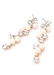 Image of Vintage Orecchini goccia orecchini gioielli da sposa