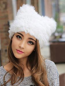 Image of Cappello da donna di pelliccia della peluche di pelliccia di con