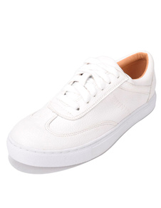 women-skate-shoes-little-white-shoes-platform-flat-lace-up-round-toe-casual-shoes